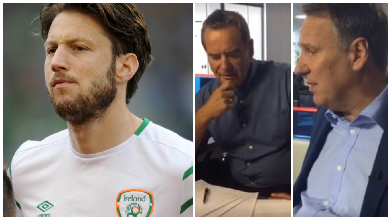 WATCH: Jeff Stelling and Paul Merson discuss possible Harry Arter England call-up… despite his two caps for Ireland