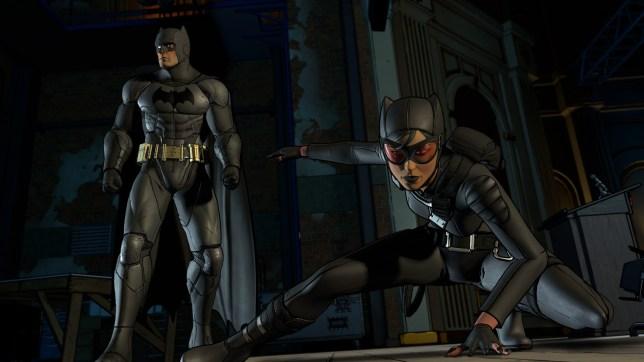 Batman: The Telltale Series Episode 2 (PS4) - superhero landing, everybody!