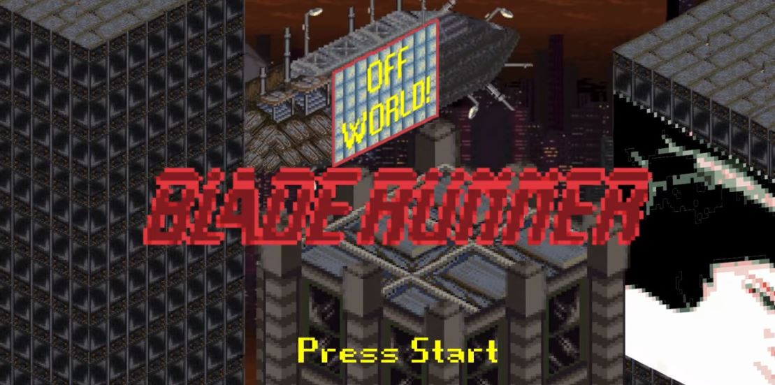 This 8-bit video game of Blade Runner should be an actual thing