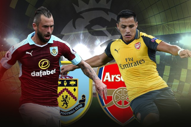 Arsenal Take On Burnley On Sunday Picture Getty
