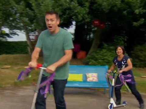 Did CBeebies' Chris Jarvis just drop the C-word? Clip shows presenter appear to say something very rude indeed