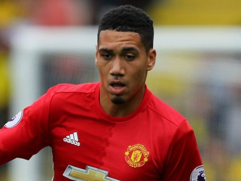 Chris Smalling can still be a key player at Manchester United, claims Nemanja Vidic