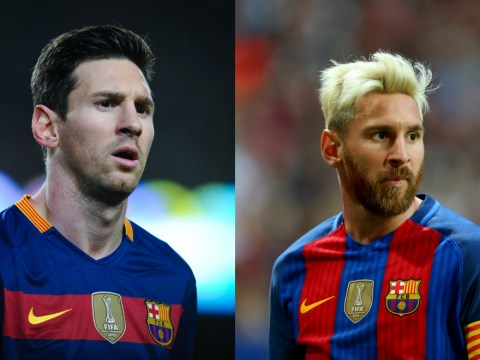 Lionel Messi reveals why he dyed his hair blond