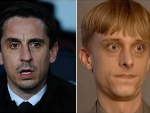 Jamie Carragher mocks Gary Neville using a SUPERB reference from The Office