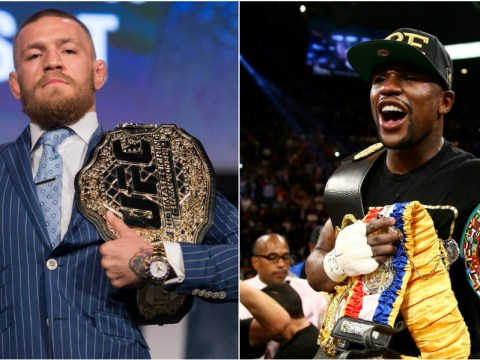 Floyd Mayweather believes if UFC star Conor McGregor did copy him then that is a good thing