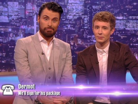 Yes, Dermot O'Leary did just reveal The X Factor judges' categories early