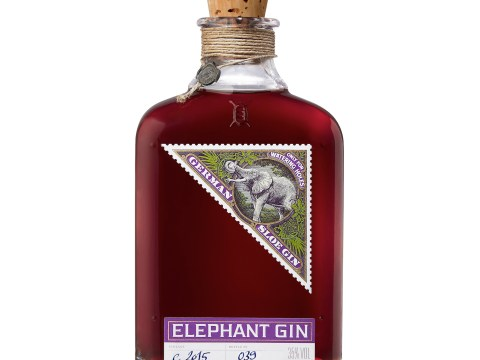 Now you can drink sloe gin and help save Africa's wild elephants from extinction