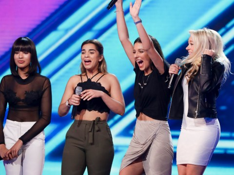 X Factor bosses admit Four of Diamonds were secretly put together by producers after auditioning as soloists