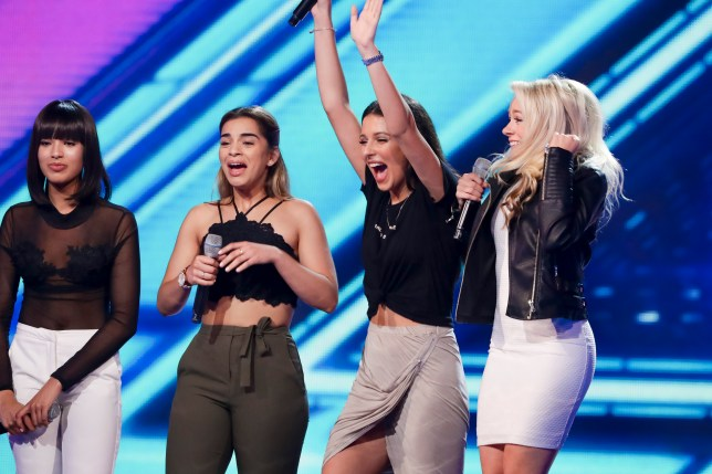 Four Of Diamonds are returning to The X Factor (Picture: Thames / Syco / ITV)
