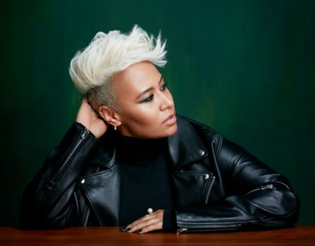 Emeli Sande has announced her brand new single Hurts (Picture: Twitter)
