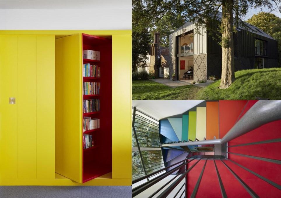 Pleasing Parents Build 840K Fun House With Secret Passageways And Interior Design Ideas Clesiryabchikinfo
