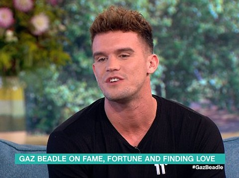 WATCH: Gaz Beadle accidentally says a very naughty word live on This Morning