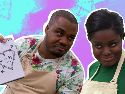 The sheer chemistry between Selasi and Benjamina on Bake Off sent Twitter absolutely nuts