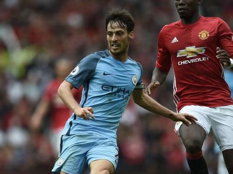 David Silva and Vincent Kompany out for Manchester City v Bournemouth, Pep Guardiola confirms