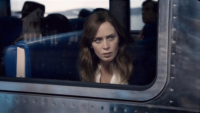 Emily Blunt in The Girl On The Train (Picture: Paramount)