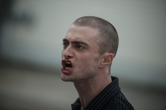 Daniel Radcliffe plays an undercover FBI agent in his new film (Picture: Signature Entertainment)