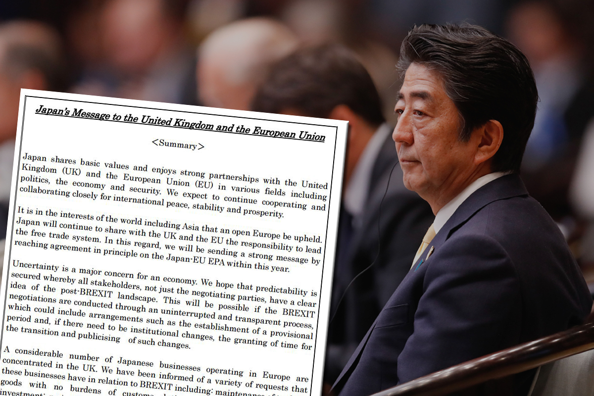Japan's list of Brexit demands is worrying