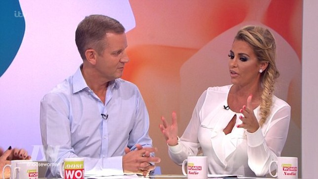 Jeremy Kyle appeared on Loose Women but viewers weren't entirely happy (Picture: ITV)