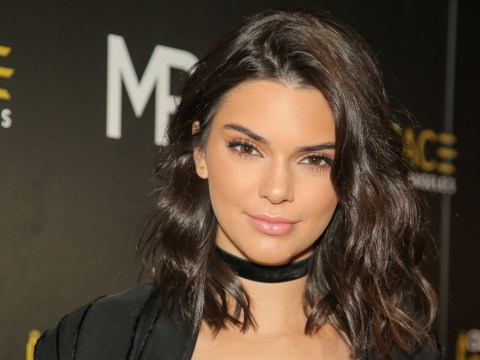 Kendall Jenner has got her lip tattooed and it looks painful