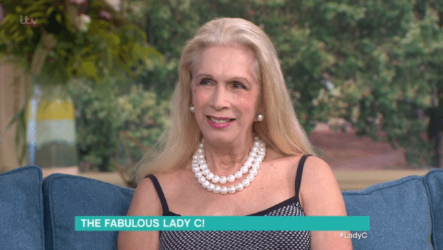 Lady C appeared on This Morning to talk about her house (Picture: ITV)