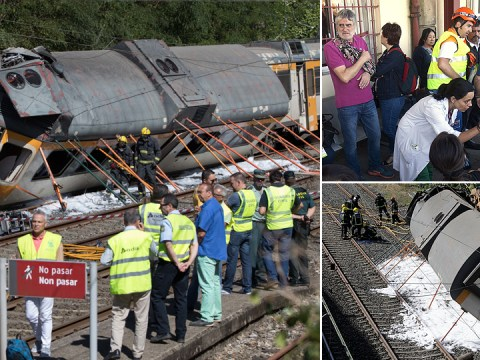 Four dead and 47 injured after train derails in Spain