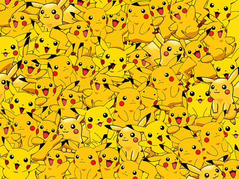 Pokemon Go: Can you spot the Ditto in this sea of Pikachus?