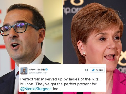 Owen Smith in sexism storm following Nicola Sturgeon 'gob stopper' jibe