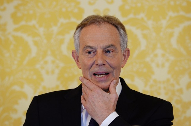 """Former Prime Minister Tony Blair holds a press conference at Admiralty House, London, where responding to the Chilcot report he said: """"I express more sorrow, regret and apology than you may ever know or can believe."""" Credit: PA"""