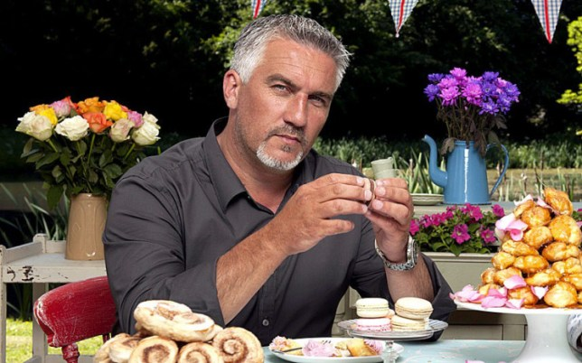 Paul Hollywood will STAY with the Bake Off (Picture: BBC)