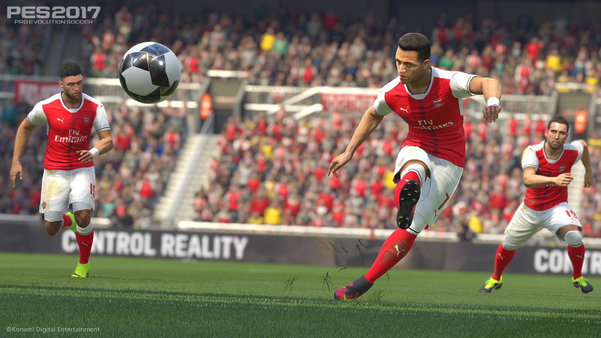 PES 2017 (PS4) - premier league action