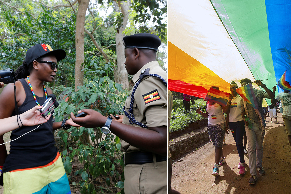Uganda shuts down gay pride event after condemning 'public activities of homosexuals'