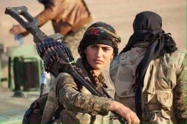 Asia Ramazan Antar is believed to have died in fighting