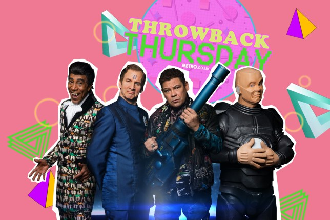 pic - Metro / UKTV red dwarf throwback thursday