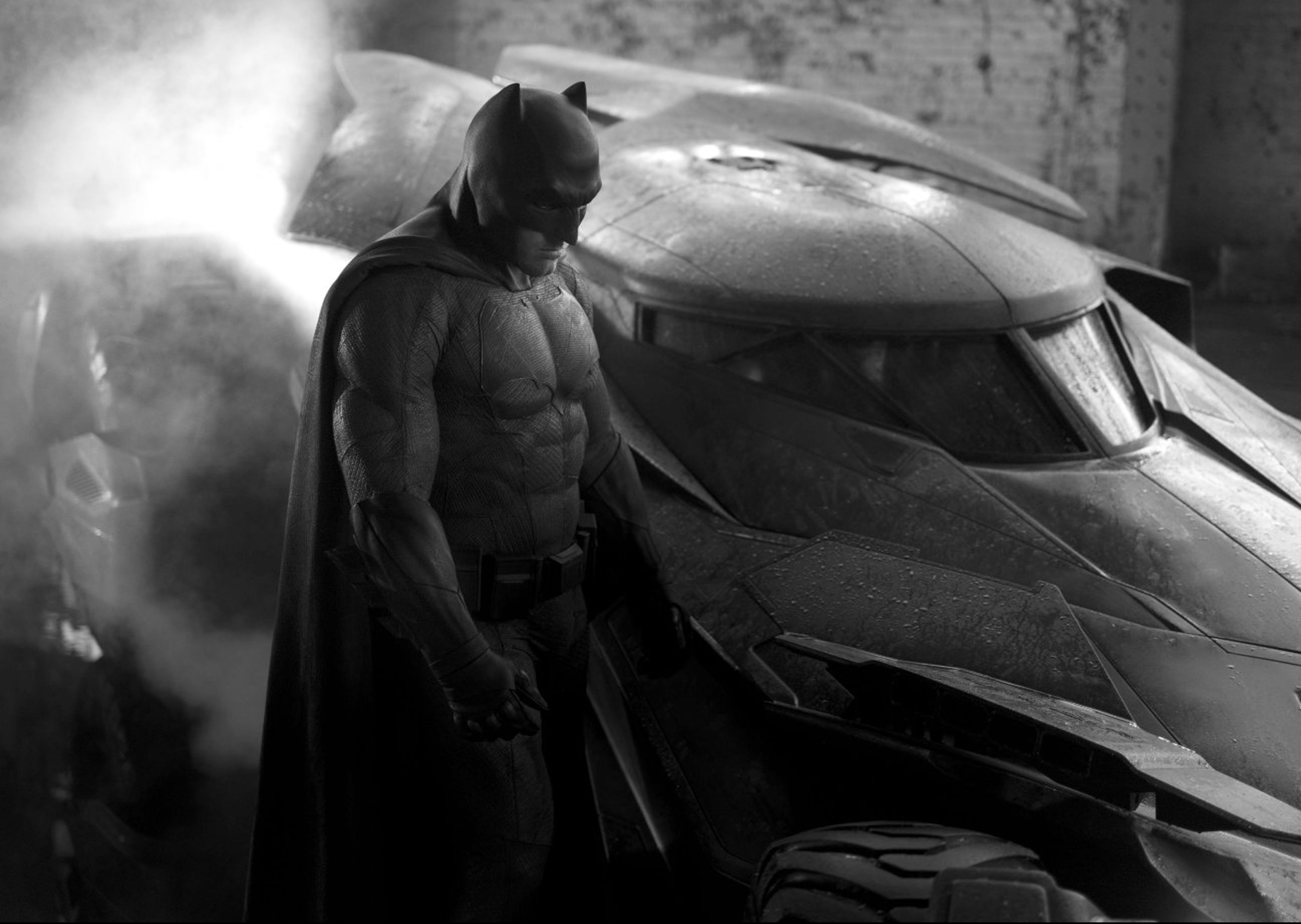 Zack Snyder shares first look at Batman's swanky new 'Tactical Batsuit' in Justice League