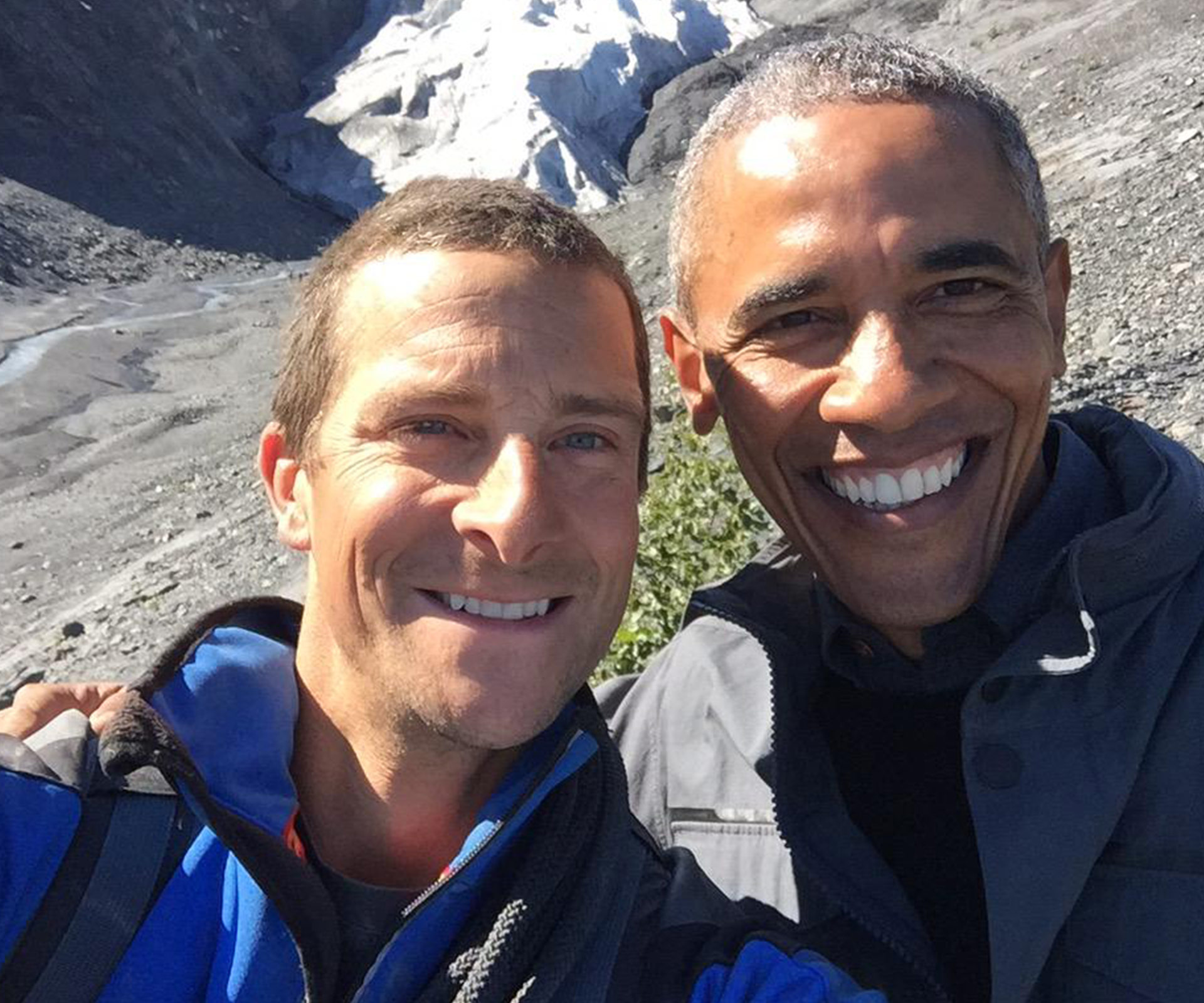 Bear Grylls reveals his Barack Obama 'survival mission' was a walk in the park — with laid-on presidential loos