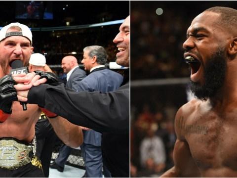 UFC heavyweight champion Stipe Miocic says he would be happy to fight Jon Jones