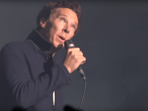 WATCH: Benedict Cumberbatch duetted with David Gilmour and everyone lost their minds