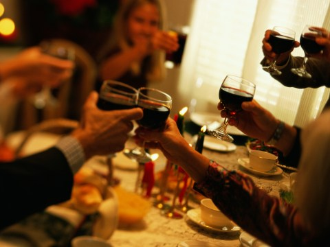 13 stages of getting drunk with your family at Christmas