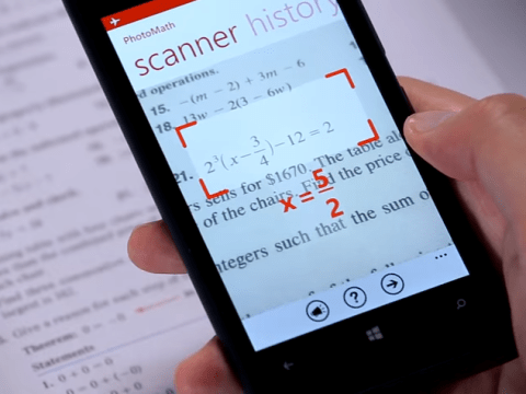 There's now an app that'll do all your maths coursework for you