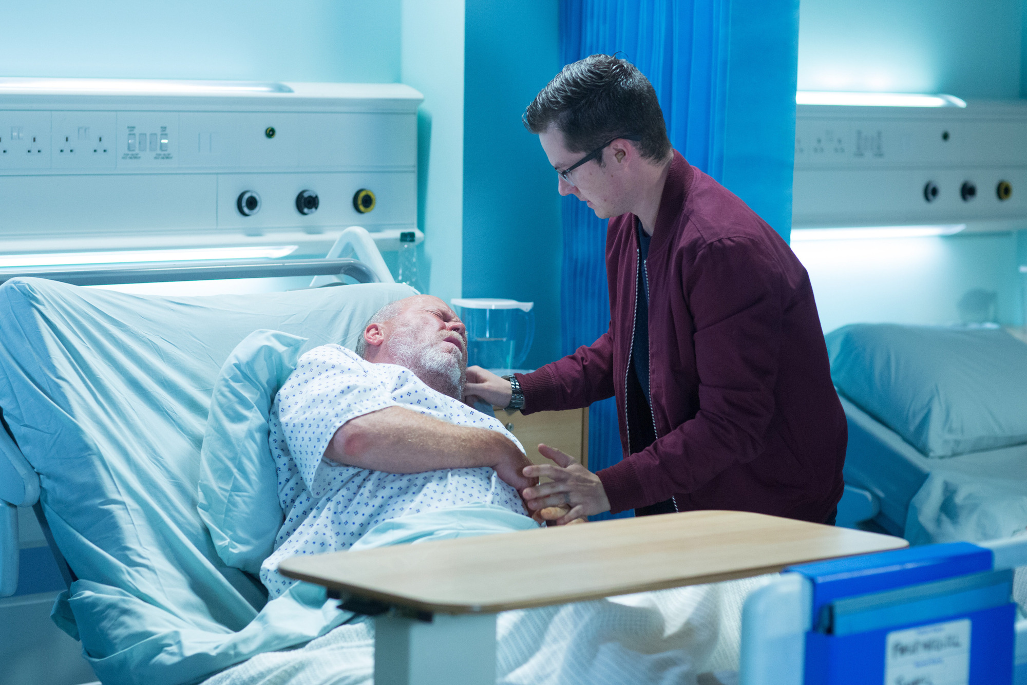 EastEnders spoilers: Phil Mitchell is left at death's door after a showdown over his will tonight