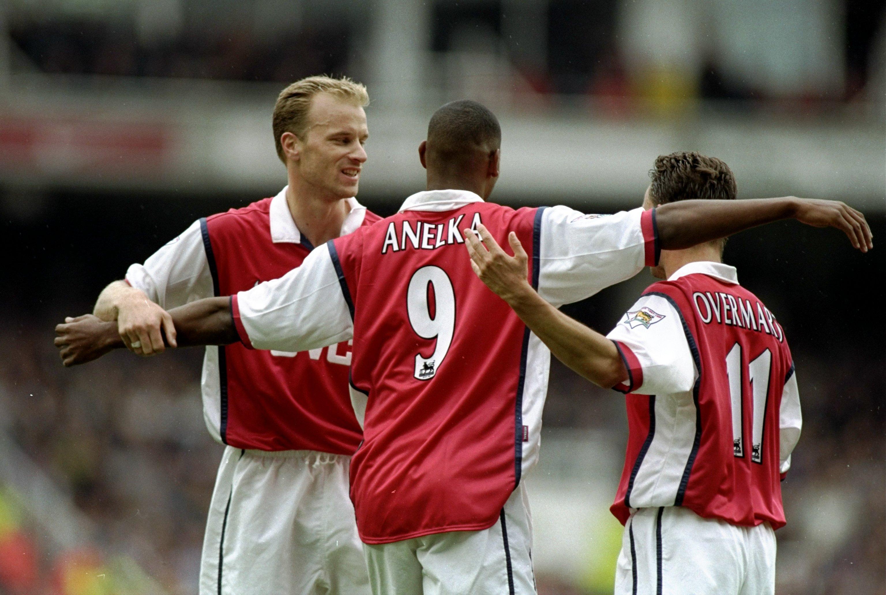 Arsenal's Theo Walcott, Mesut Ozil, and Alexis Sanchez remind Martin Keown of legendary trio
