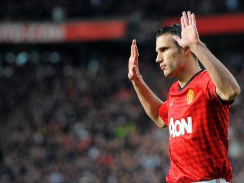Robin van Persie's top five moments in a Manchester United shirt