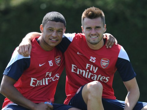 Alex Oxlade-Chamberlain expresses his delight as Carl Jenkinson closes in on Arsenal return