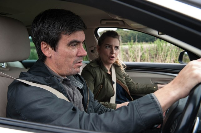FROM ITV STRICT EMBARGO - NO USE BEFORE TUESDAY 18 OCTOBER 2016 Emmerdale - Ep 7653 Thursday 27 October 2016 - 2nd Ep Devastated Charity Dingle's re Desk. This photograph must not be syndicated to any other company, publication or website, or permanently archived, without the express written permission of ITV Plc Picture Desk. Full Terms and conditions are available on the website www.itvpictures.com