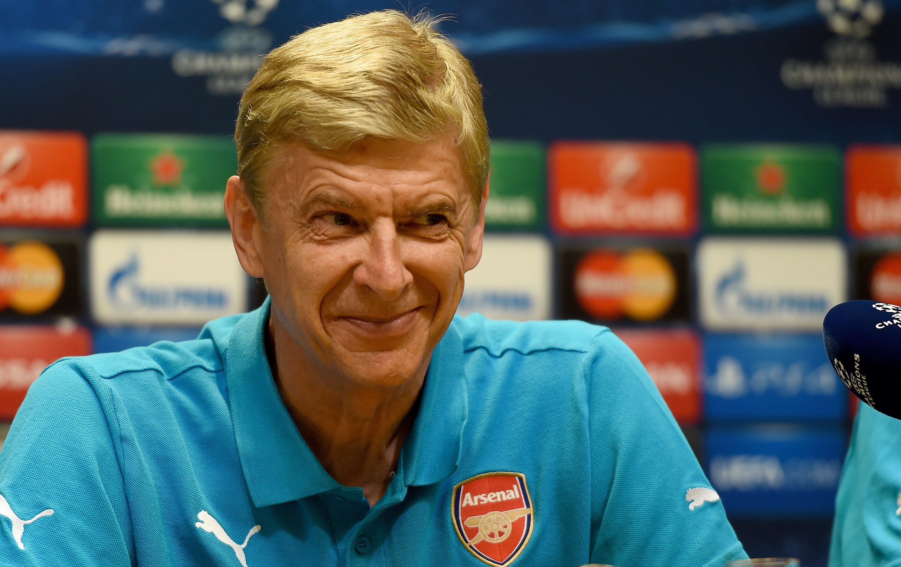 Wenger claims Petr Cech and David Ospina are both world class