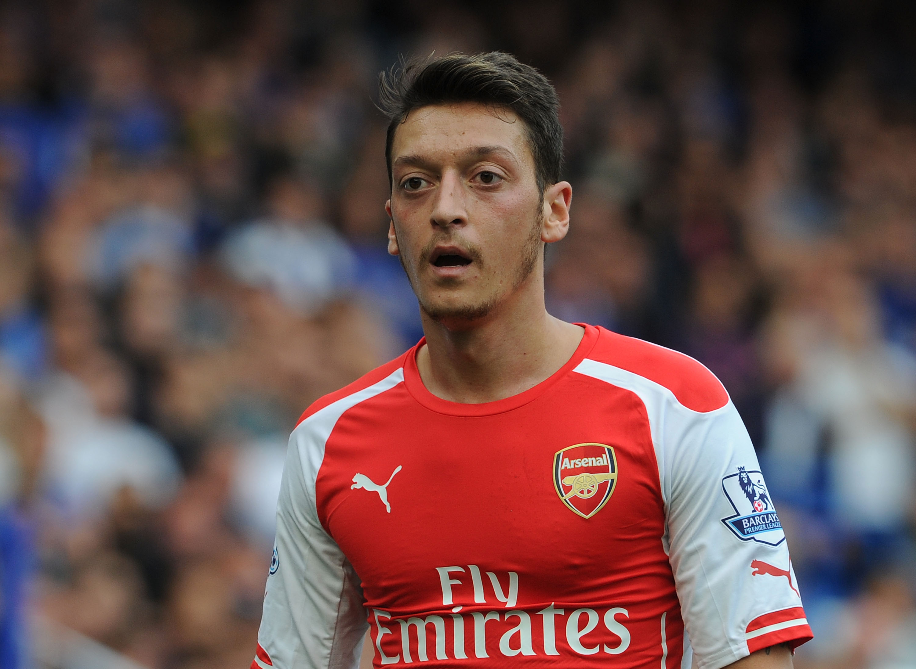 Mesut Ozil told he's NOT world class and just a flat-track bully for Arsenal