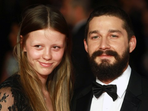 Shia LaBeouf bought shots and flirted with his fans before wedding to Mia Goth