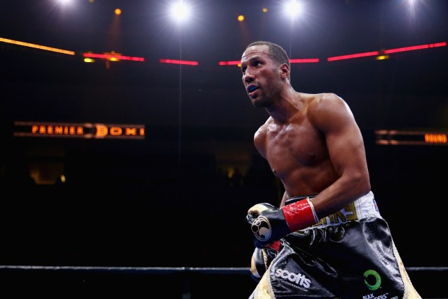 BOSTON, MA - MAY 23: James DeGale in action during his super middleweight fight against Andre Dirrell at Agganis Arena at Boston University on May 23, 2015 in Boston, Massachusetts. (Photo by Maddie Meyer/Getty Images)