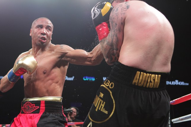 OAKLAND, CA - JUNE 20: Andre Ward (L) lands a left hook on Paul Smith during their Cruiserweight fight at ORACLE Arena on June 20, 2015 in Oakland, California. (Photo by Alexis Cuarezma/Getty Images)