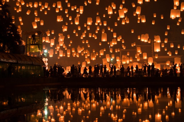 The Festival of Lights - always stunning (Picture: Getty)